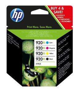 HP 920XL Schwarz/Cyan/Magenta/Gelb Original Tintenpatrone mit hoher Reichweite