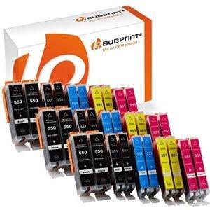 30 Druckerpatronen kompatibel für Canon PGI-550 CLI-551 XL mit Chip