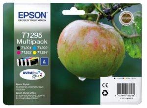 Epson T1295 Tintenpatronen Apfel, Multipack, 4-farbig