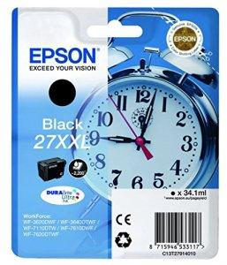 Epson T2791 Tintenpatrone (Wecker 27XXL, Singlepack) schwarz