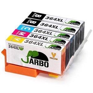 JARBO Kompatibel HP 364XL Tintenpatronen 4 Farbe (2 Schwarz,1 Cyan,1 Magenta, 1Gelb) Hohe Kapazität kompatibel zu HP Photosmart 5510 5511 5512 5514 5515 5520 5522 5524 6510 6520 6512 6515 7510 7520 7515 B8550 B8558 C5324 Drucker