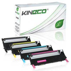 4 Toner kompatibel zu Samsung CLP-320 325 N W Series CLX-3180 3185 FN FW N W - CLT-K4072S C4072S M4072S Y4072S - Schwarz 2.500 Seiten, Color je 2.000 Seiten