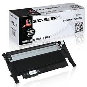 Toner für Samsung Xpress C410W CLP-365/SEE CLP-365 360 Series CLX 3300 Series 3305 FN FW Xpress C 460 FW Series - CLT-K406S - Schwarz 1500 Seiten