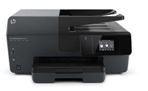 HP Officejet Pro 6830 ePrint Multifunktionsdrucker (Scanner, Kopierer, Fax, Drucker, WiFi, Duplexdruck) schwarz