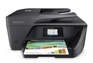 HP OfficeJet Pro 6960 Multifunktionsdrucker (Drucker, Scanner, Kopierer, Fax, HP Instant Ink, WLAN, LAN, HP ePrint, Apple Airprint, USB, 600 x 1200 dpi) schwarz