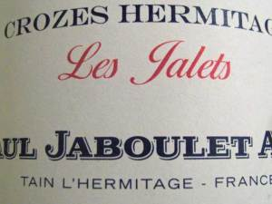 Paul Jaboulet An   Crozes Hermitage Les Jalets