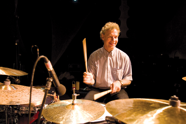 Picture Tim Dickeson 27-05-2007 Michiel Bortslap (Piano, Keyboards), Bill Bruford (Drums & Percussion)