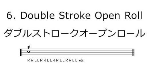 6.-Double-Stroke-Open-Roll