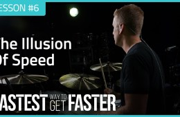 The Fastest Way to Get Faster Drum Lesson DAY 6 Speed Featured Image