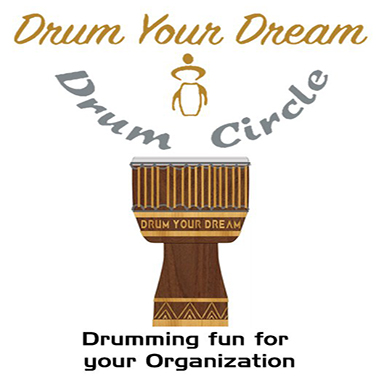 DYD Logo and Drum 4x4 inch