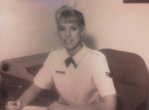 author MaryAnn Kempher in the Air Force
