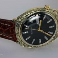 Hand Engraved Vintage Watch