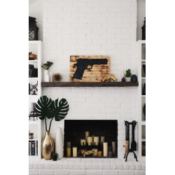 Small Crop Of White Brick Fireplace
