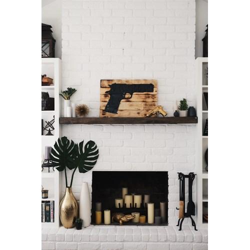 Medium Crop Of White Brick Fireplace