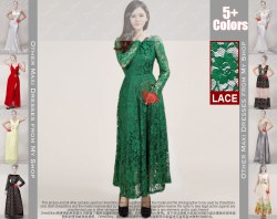 Small Of Green Lace Dress