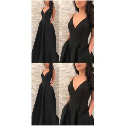 Particular Black Prom Prom Neck Prom Prom Dress Black Prom Prom Neck Prom By Prom Dresses On Black Homecoming Dresses Kohls Black Homecoming Dresses Tight