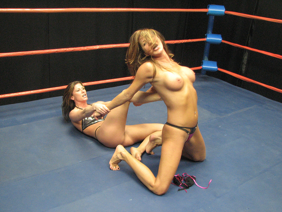 topless female wrestling with ziggy