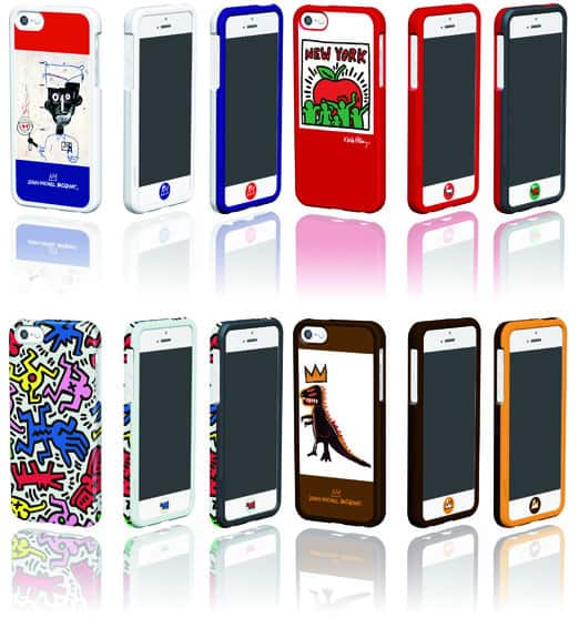 Haring-Basquiat-iPhone 5
