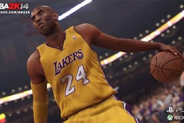 Kobe Bryant PS4 Xbox One NBA 2K14