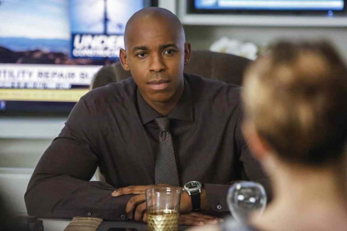"Supergirl -- ""We Can Be Heroes"" -- SPG210b_0016.jpg -- Pictured: Mehcad Brooks as James Olsen -- Photo: Bettina Strauss /The CW -- © 2017 The CW Network, LLC. All Rights Reserved"