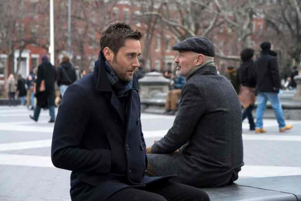 "THE BLACKLIST: REDEMPTION -- ""Operation Davenport"" Episode 104 -- Pictured: (l-r) Ryan Eggold as Tom Keen, Terry O'Quinn as Howard Hargrave -- (Photo by: Virginia Sherwood/NBC)"