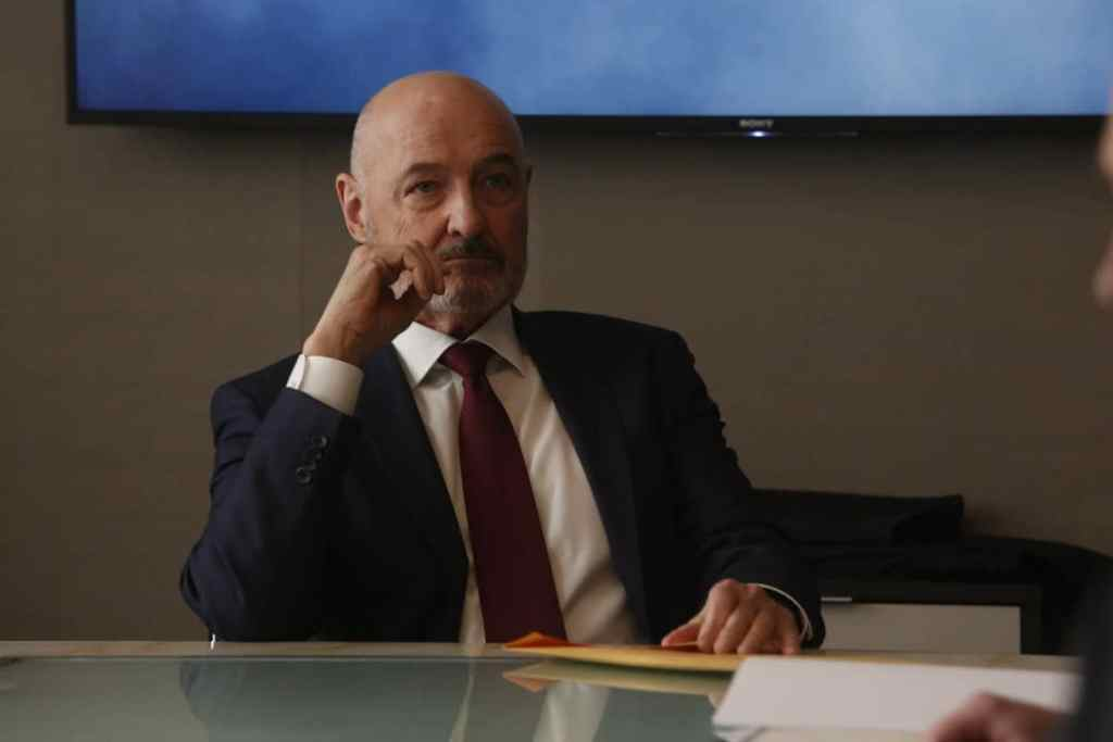 """THE BLACKLIST: REDEMPTION -- """"Whitehall: Conclusion"""" Episode 108 -- Pictured: Terry O'Quinn as Howard Hargrave -- (Photo by: Will Hart/NBC)"""