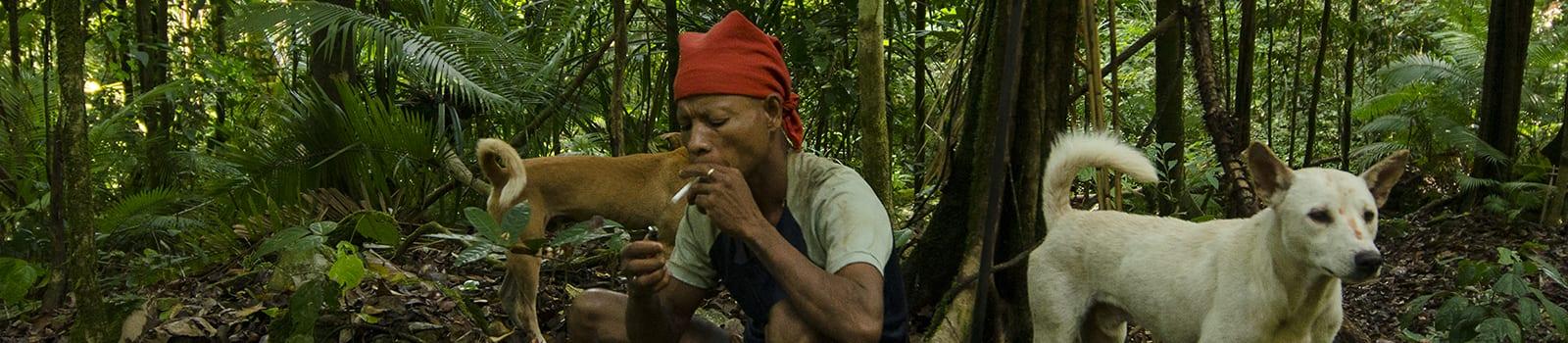 Povești cu triburi -VIII- În pădure, cu vânătorul naulu