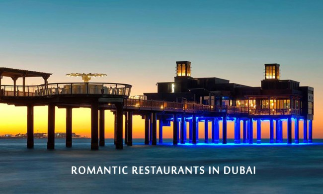 Most Romantic Restaurants for Candle Light Dinner in Dubai