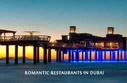 Most Romantic Restaurants for Candle Light Dinner in Dubai