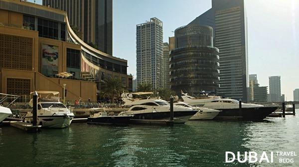dubai marina mall yachts