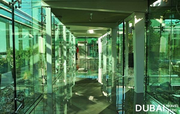 hallway to aviation club