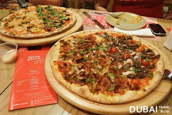 pizza dubai itzza pizza