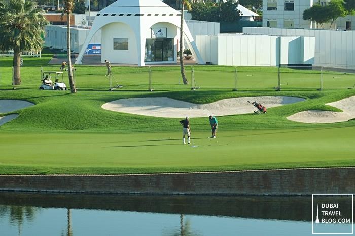 golf weekend uae
