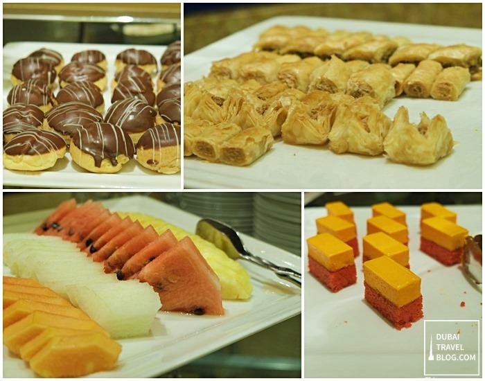 desserts arabesque cafe arjaan