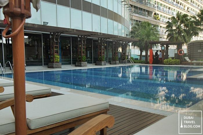 swimming pool area burjuman arjaan