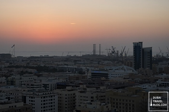 sunset old dubai
