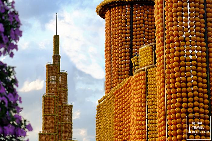 burj khalifa miracle garden