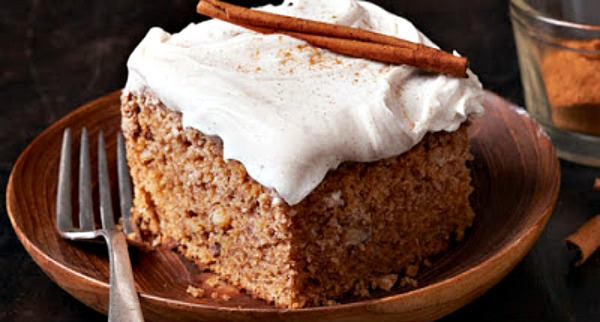 Applesauce spice cake recipe