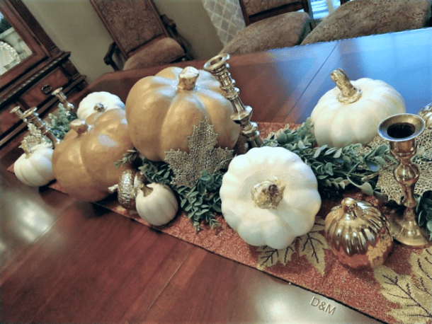 My 2018 Fall Tablescape by Decorate and More with Tip