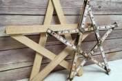 Christmas Star tree topper DIY | DuctTapeAndDenim.com