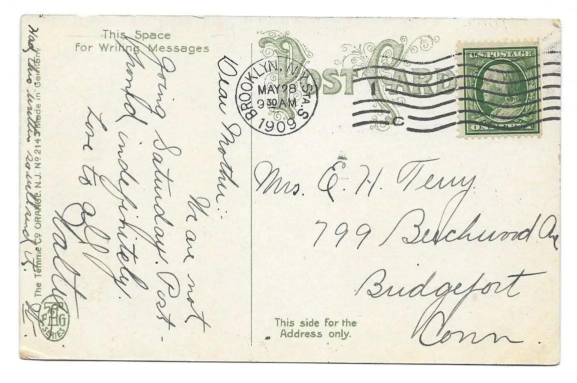 Fullsize Of Addressing A Postcard