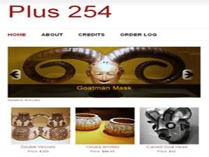 254 WordPress e-commerce theme