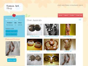 Sanaa WordPres shipping e-commerce theme