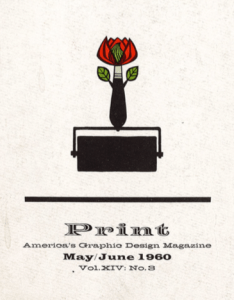Print Magazine 1960 Cover