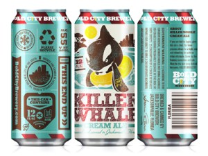 Bold City Beer Can Label Design by Kendrick Kidd