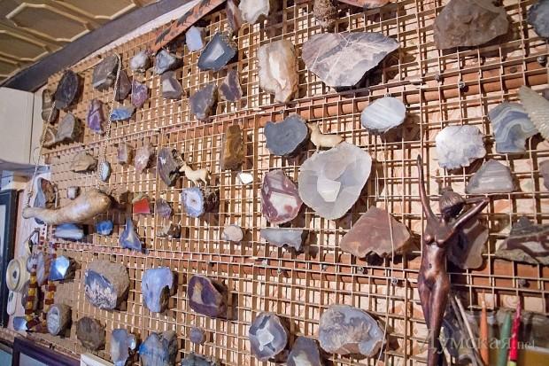 Коллекция причудливых камней