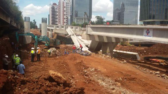 Banyak Kecelakaan, Tiga Menteri Sepakat Hentikan Seluruh Proyek Konstruksi Layang
