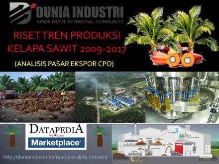 """<span itemprop=""""name"""">Riset Tren Produksi Kelapa Sawit 2009-2017 (Analisis Pasar Ekspor CPO)</span>"""