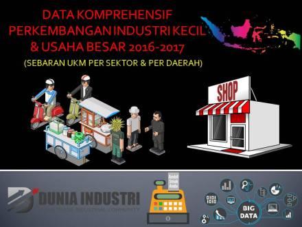 """<span itemprop=""""name"""">Data Komprehensif Perkembangan Industri Kecil & Usaha Besar 2016-2017 (Sebaran UKM Per Sektor & Per Daerah)</span>"""