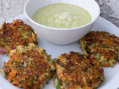 Zucchini Cakes-Duo Dishes